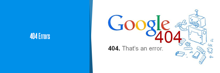 how to handle 404 error in seo