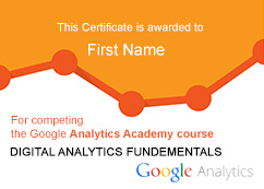 digital analytics certification
