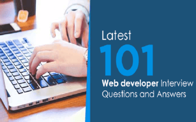 Latest 101 Web Developer Interview Questions and Answers