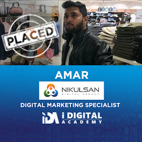 Digital Marketing Placement for Amar at Nikulsan