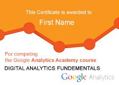 Digital Analytics Certifications