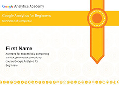 Google Analytics Certifications