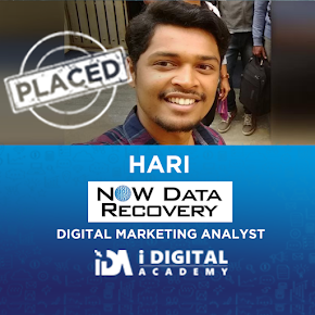 Hari Working as Digital Marketing Analyst