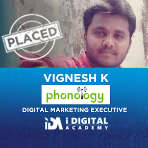 Vignesh Working at Phonology as Digital Marketer
